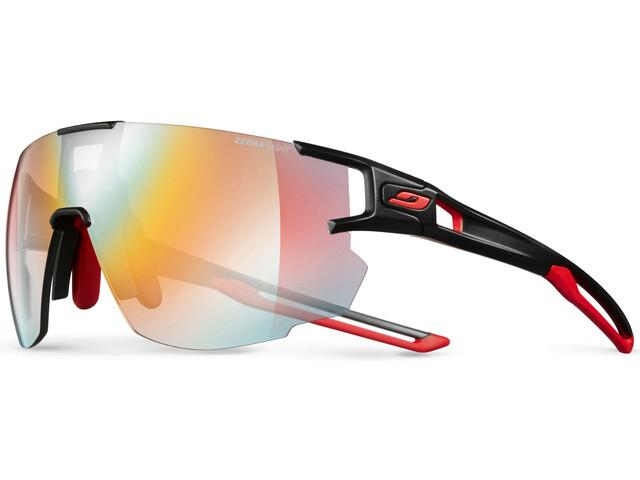 Julbo Aerospeed Segment Light Red Occhiali da sole, nero/rosso